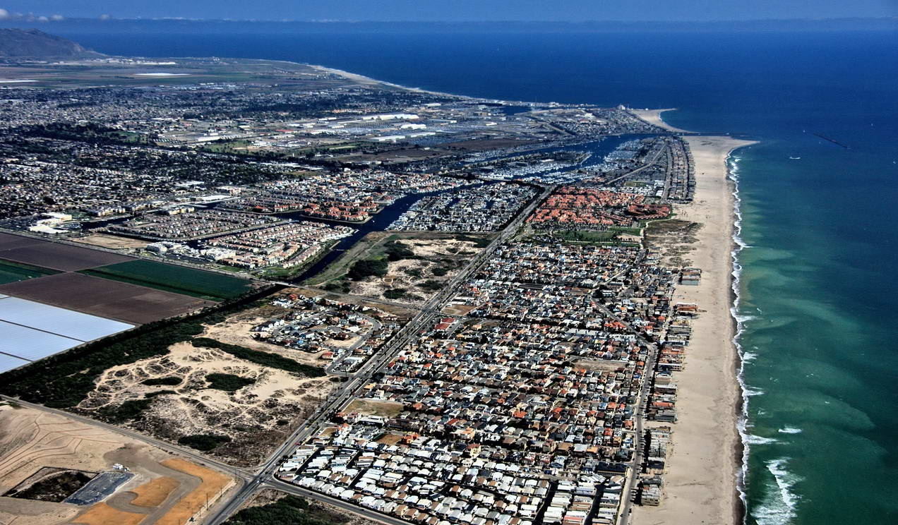 Image result for birds eye view of oxnard